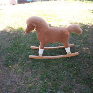 PLUSH ROCKING HORSE Kingston Kingston Area image 3