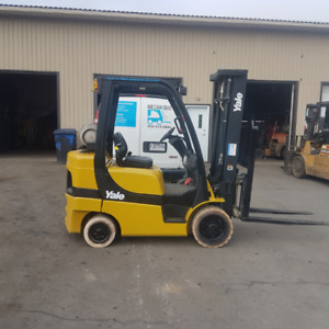Certified 2011 Yale Propane Forklift- Delivery Included!