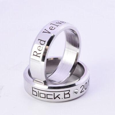 (Kpop Block B Red Velvet SHINee Big Bang Ring Necklace Crystal Sweater Pendant )