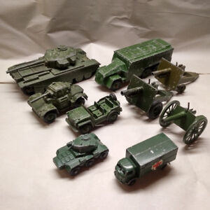 Dinky, Lesney & Britains Military/Army Toys