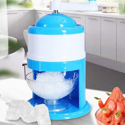 Ice Crusher Shaving Machines Mini Snow Manual Cone Makers Household Shaver Xx4hh