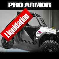 Pro Armor Doors Neuf, LIQUIDATION, Free shipping