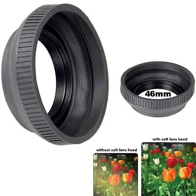 Bower 46mm Camera Lens Collapsible Rubber Lens -