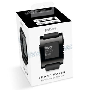Pebble Smartwatch 301BL for iPhone and Android (Black)