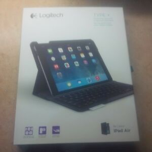 logitech type + for ipad air brand new unopened