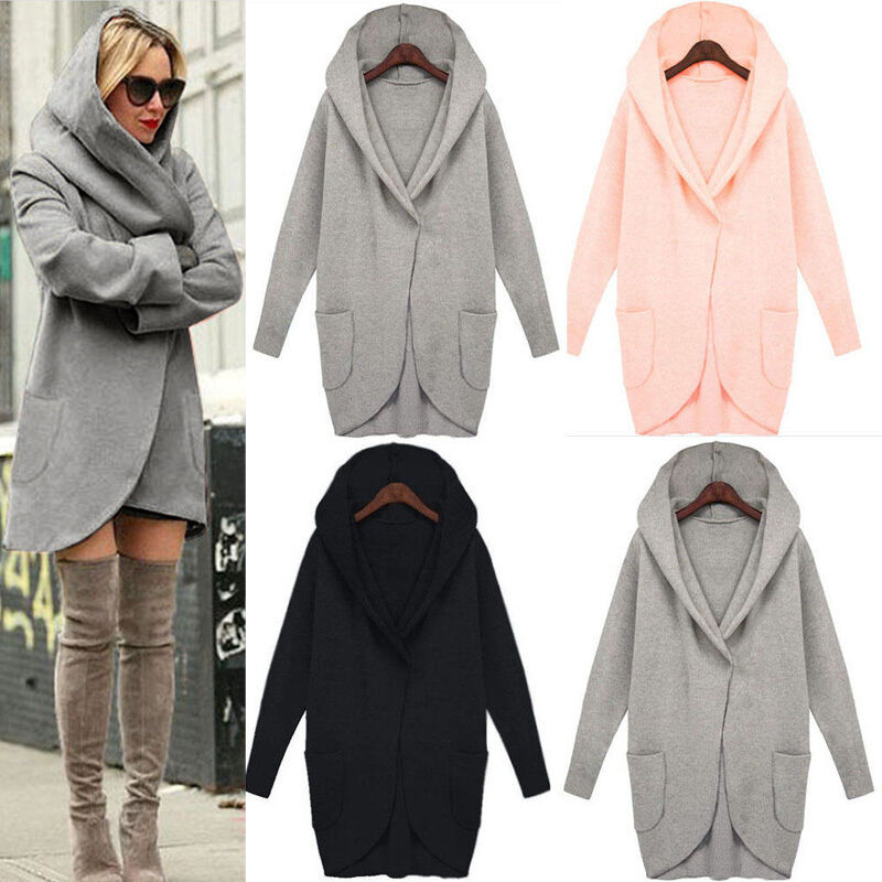 warmer mantel damen winterjacke jack mit kapuze in 4 farben gr s m l xl neu eur 13 35. Black Bedroom Furniture Sets. Home Design Ideas