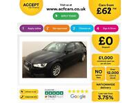 Audi A3 1.6TDI ( 105ps ) Sportback 2014MY SE FROM £62 PER WEEK!