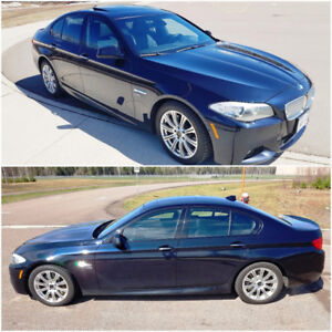 BMW 5-Series 550i x-DRIVE-Requires engine repair or replaced
