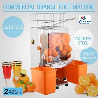 New Auto Orange Lemon Juicer Squeezer Extractor Machine 2000e-2commercial Nsf