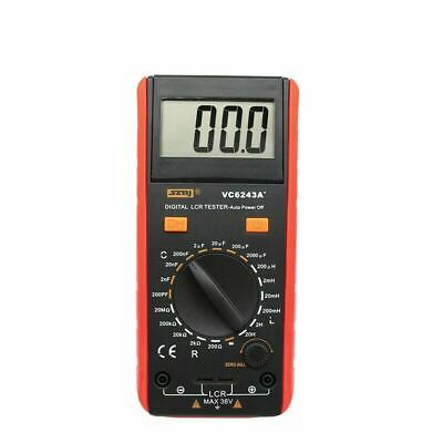 Vc6243a Digital Lcd Meter Inductance Capacitance Resistance Tester Multimeter Cr