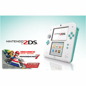 LOOKING FOR: A NINTENDO 2DS (SEA GREEN)