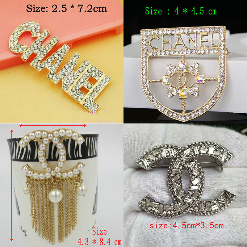 Fashion Women Jewelry Alloy Simulated Pear Crystal Brooch Pin