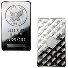 ON SALE! 10 oz Sunshine Silver Bars - 20 oz Total .999 fine (New, Lot of 2)