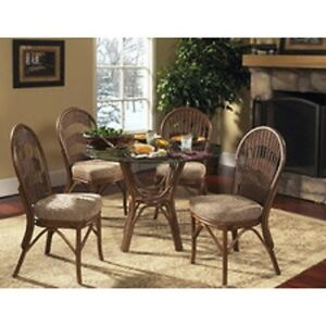 Lovely Rattan Table and Chair Set - reduced moving