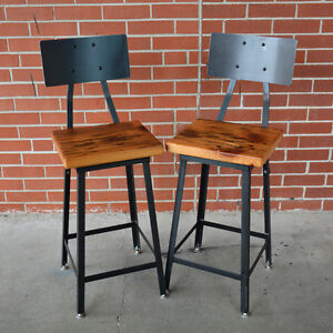 Bar & Counter Industrial Stools