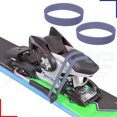 Data Wax Datawax Rubber Ski Brake Band Binding Arm Retainers x 2