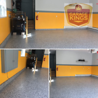 Garage Kings - Epoxy Coatings, protect your concrete floors!