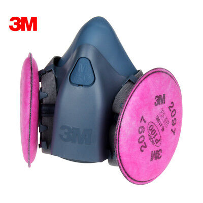 Free Shipping 3m 7502 Spray Paint Dust Mask Respirator3m 2097 P100 Fliters