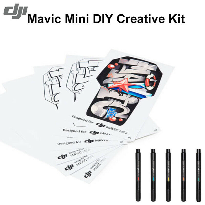 Shark Face Design Sticker DIY Decal Accessories For DJI Mavic Mini RC Drone