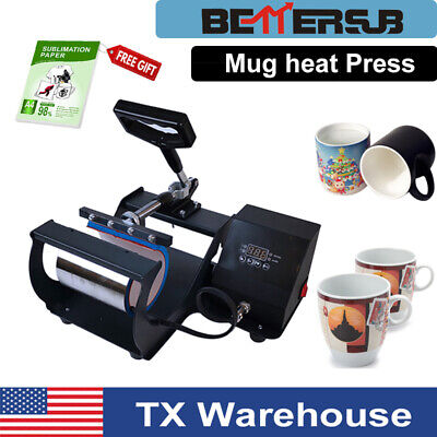 Mug Heat Press Transfer Machine Sublimation Paper For 11oz Coffee Mugs Cups Us