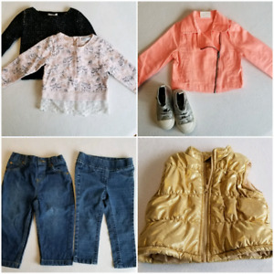 Collection of 2t clothing