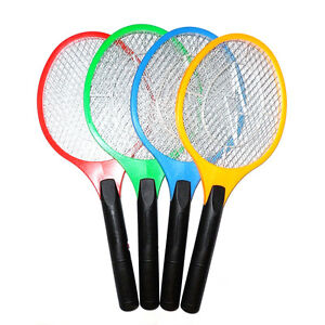 1PC Useful Electric Insect Bug Pest Fly Mosquito Zapper Swatter Killer Racket