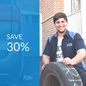 Need your brakes fixed? Call us at 647-361-1902. Save 30%!