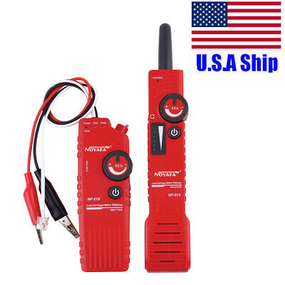 Usa Ship Nf-819 Low Voltage Underground Wire Tracker Line Finder Tester Tool