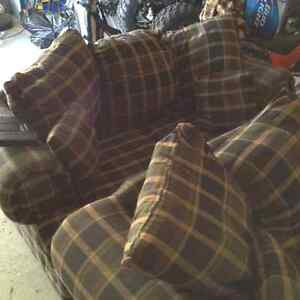 Used but in good condition couch and loveseat