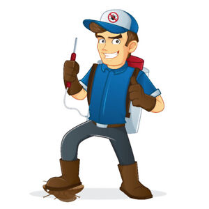 Professional Exterminator, Security Guard or Janitor