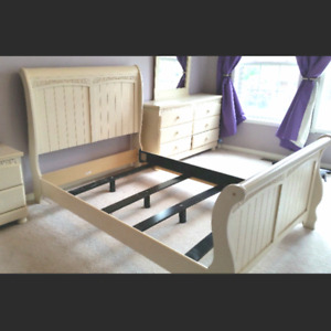 Ashley Full Double Bed Frame Cottage Retreat