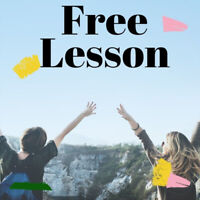 *Limited time only* Free Japanese Lesson!