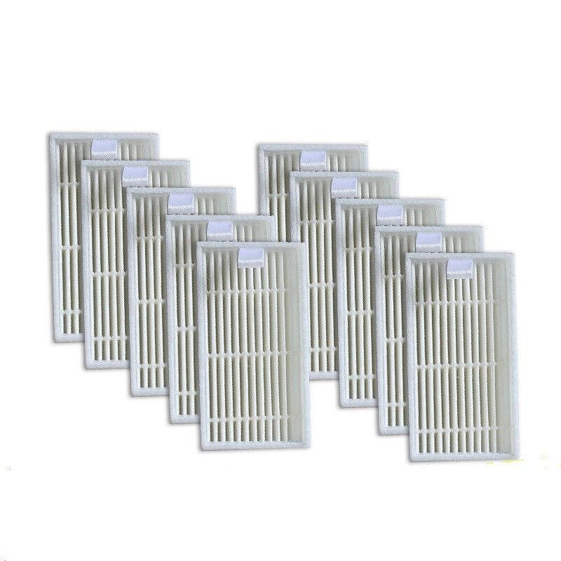 10Pcss HEPA Filter for ILIFE v1 v5 v5s v3 Robot Vacuum Cleaner Replacement Parts