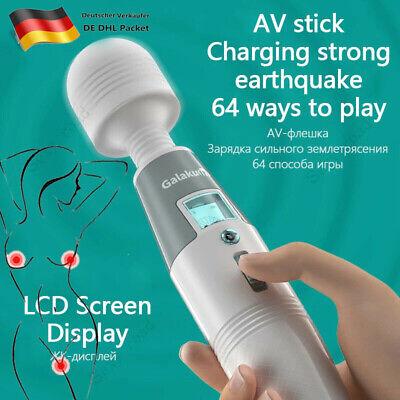 USB Magic Wand Massagestab Massager Massagegerät Wasserdicht Vibrator Stark DHL