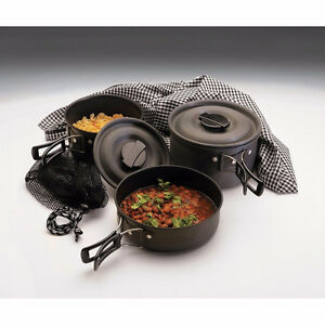 Texsport Scouter Hard Anodized cookset - 2/3 person