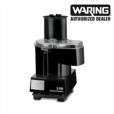 Waring Wfp14sc 3.5 Quart Food Processor Continuous Feed And Regular Bowl