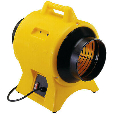 Americ 115v 8 In. Light Industrial Confined Space Ventilator Vaf1500a New