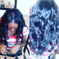 Extensions-Box Braids -Weave $70 avail 438-338-7376