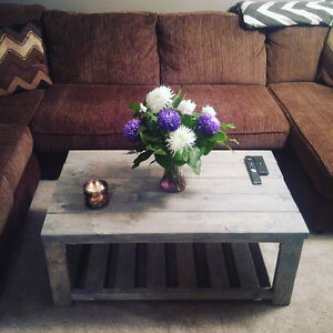 Handmade coffee tables