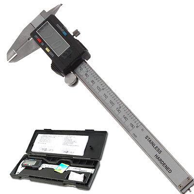 6inch 150mm LCD Digital Electronic Gauge Vernier Caliper Micrometer Measurement