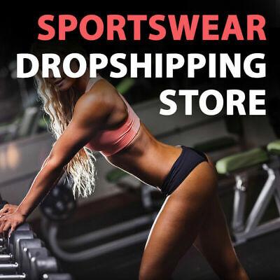 Sportswear Dropshipping Store - Turnkey Business Website