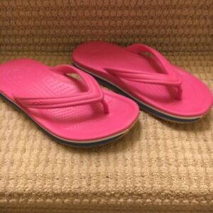 New Girl's Crocs Flip Flops