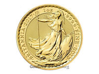 Uncirculated 2017 1oz Gold Britannia coin