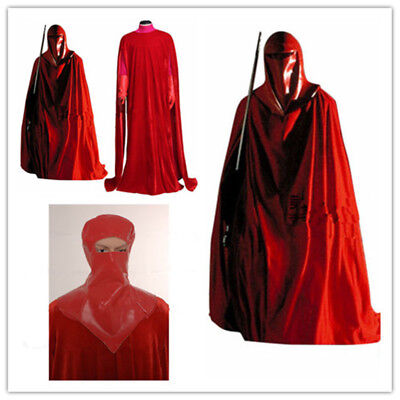 Star Wars Imperial Emperor's Red Royal Guard Cosplay Costume Uniform Suit{XC}](Star Wars Royal Guard Costume)