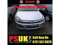 Vauxhall Astra H (2006) For Breaking SILVER