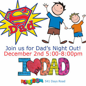 DAD'S NIGHT OUT AT PLAYTRIUM ! Kingston Kingston Area image 1