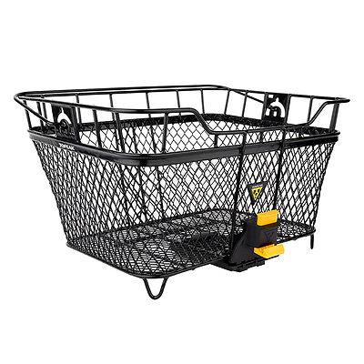 TOPEAK MTX Rear Rack Mount Basket -Mesh-Black