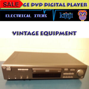 GE DIGITAL DVD PRO PLAYER - GREAT CONDITION