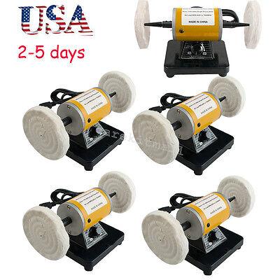 5sets Usa Mini Polisher Grinder Polishing Machine Dental Lathe Bench Buffing Fda