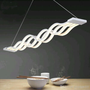Contemporary LED Wave Pendant – SUPER COOL!!